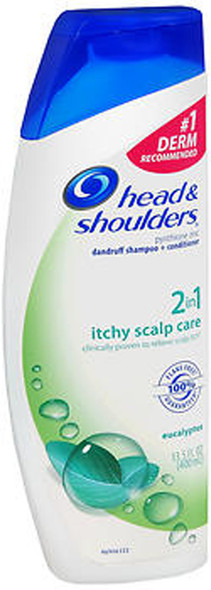Head and Shoulders Itchy Scalp Care 2-in-1 Dandruff Shampoo + Conditioner - 14.2 oz
