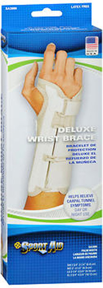 Sport Aid Deluxe Wrist Brace X-Large Right -  1 ea.