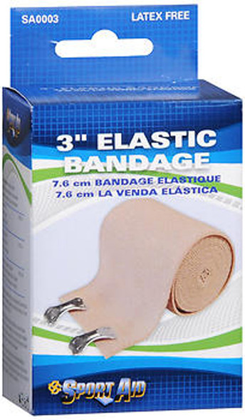 Sport Aid Elastic Bandage 3 inch - 1 ea.