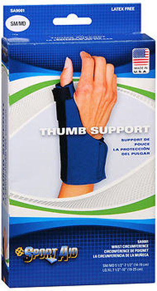 Sport Aid Thumb Support SM/MD -  1 ea.
