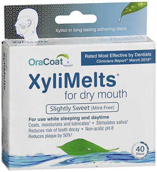 Orahealth XyliMelts Mint-Free Discs - 40 discs