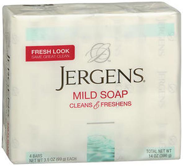 Jergens Mild Soap - 4 Bars