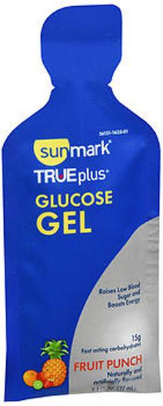 Sunmark True plus Glucose Gel Fruit Punch - 6 - 1.4 oz Packs