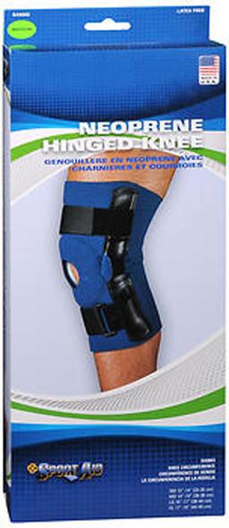 Sport Aid Neoprene Hinged Knee Support Med - 1 ea.