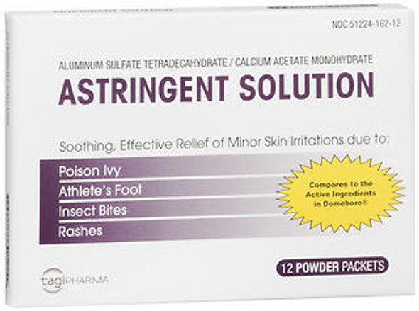 Tagi Pharma Astringent Solution Powder Packets - 12 Packets