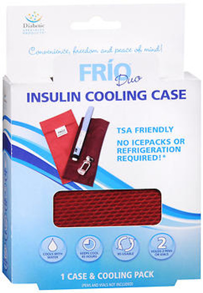 FRIO Duo Insulin Cooling Case - 1 cs and Cooling Pack