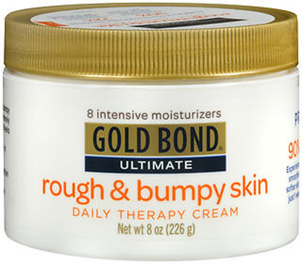 Gold Bond Ultimate Rough & Bumpy Skin Daily Therapy Cream - 8 oz Jar