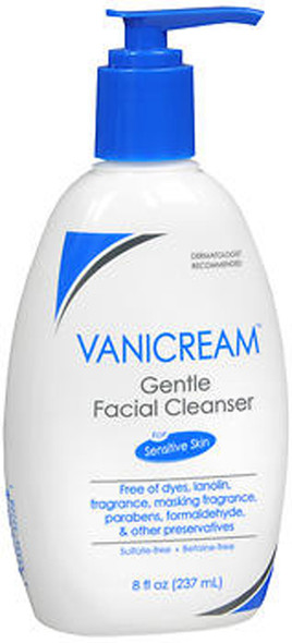 Vanicream Gentle Facial Cleanser - 8 oz Pump