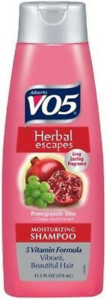 VO5 Herbal Escapes Moisturizing Shampoo Pomegranate & Grapeseed - 12.5oz