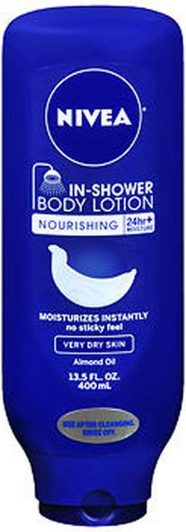 Nivea In-Shower Body Lotion Nourishing, 13.5 oz
