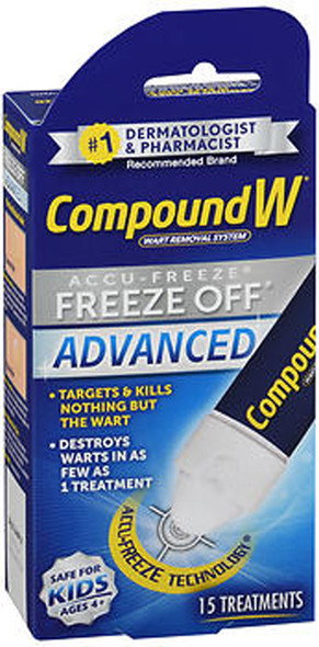 Compound W Freeze Off Advanced Wart Removal System - 15 Treatments