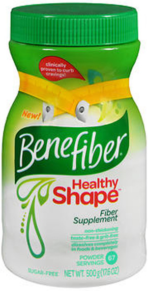 Benefiber Healthy Shape Fiber Powder - 17.6 oz