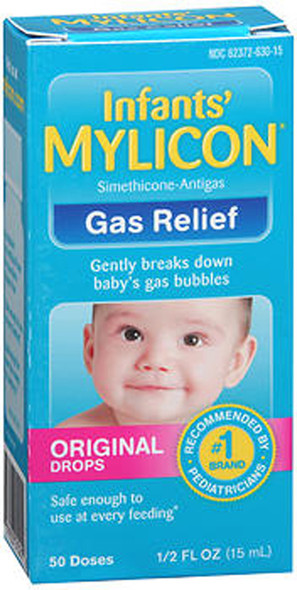 Mylicon Infants' Gas Relief Original Drops - .5 oz
