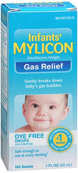 Mylicon Infants' Gas Relief Dye Free Drops - 1 oz