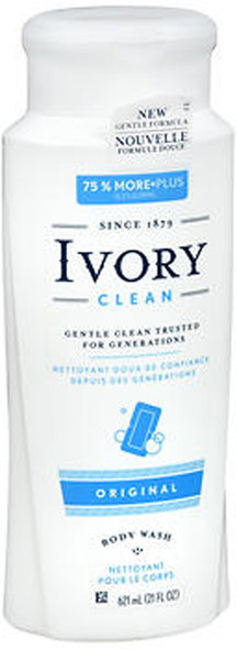 Ivory Clean & Simple Scented Body Wash Original - 21 oz