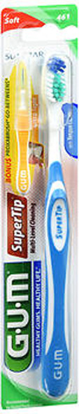 GUM Super Tip Toothbrush Soft Compact - 1 each