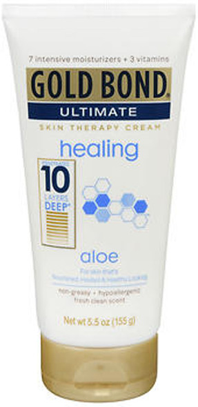 Gold Bond Ultimate Healing with Aloe Skin Therapy Cream - 5.5 oz