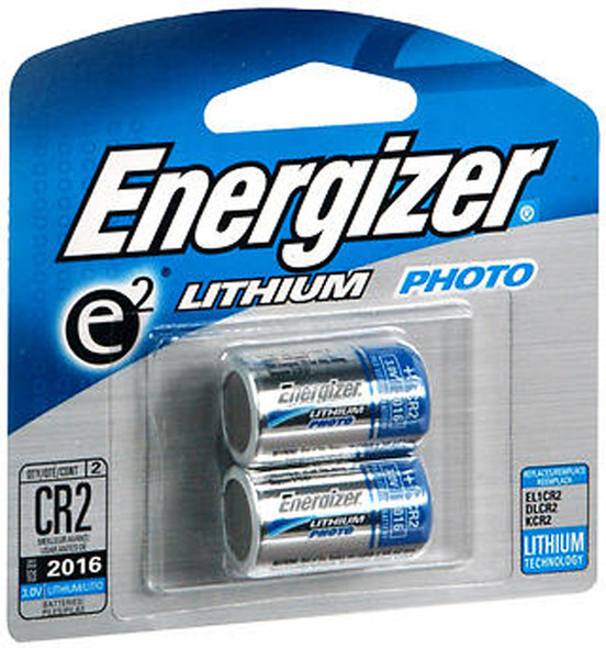 Energizer e2 Lithium Photo Battery 3.0 Volt EL1CR2 - 2 pk