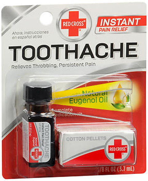 Red Cross Toothache Complete Medication - 1 Kit