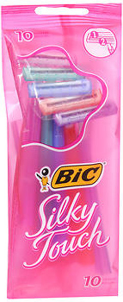 Bic, Silky Touch, Disposable Shavers, Women's - 10 ct