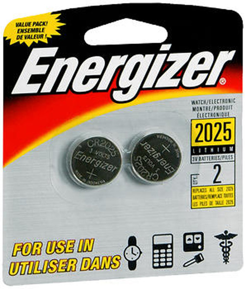 Energizer Watch/Electronic Batteries 2025BP - 2pk
