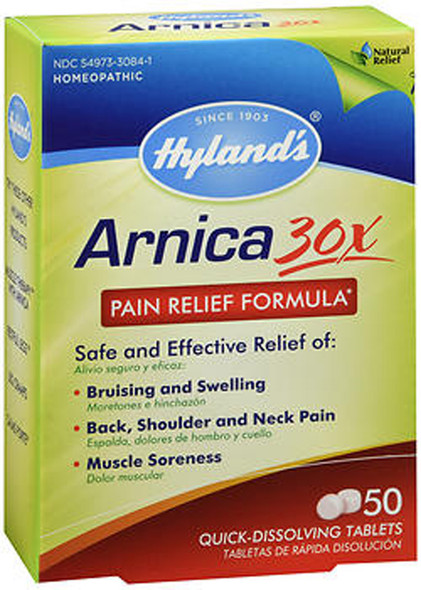 Hyland's Arnica 30x Quick Dissolving Tablets - 50ct