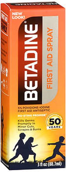Betadine First Aid Spray - 3 oz
