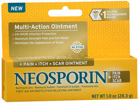 Neosporin + Pain, Itch, Scar Ointment - 1 oz