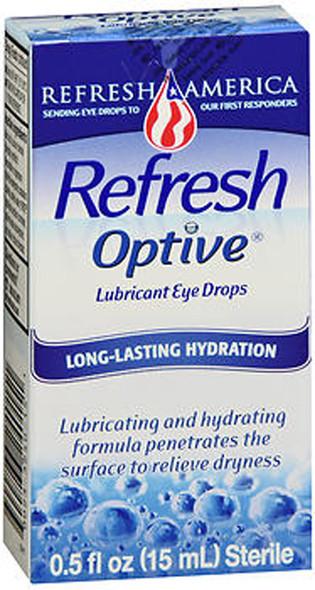 Refresh Optive Lubricant Eye Drops - 0.5 oz