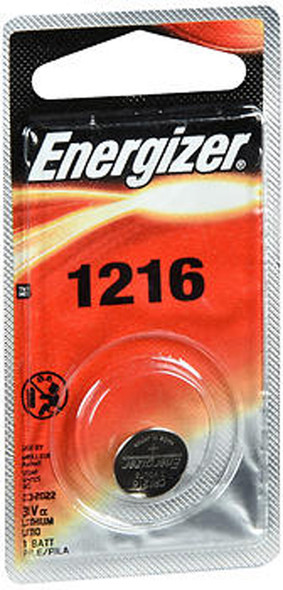 Energizer Watch/Electronic Battery 3 Volt 1216