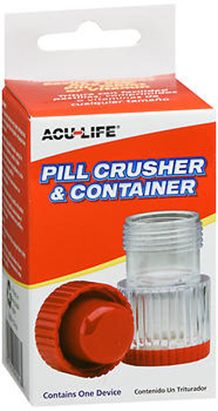 Acu-Life Pill Crusher with Container - 1 Each