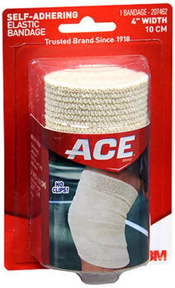 Ace Self-Adhering Elastic Bandage 4 Inch Width