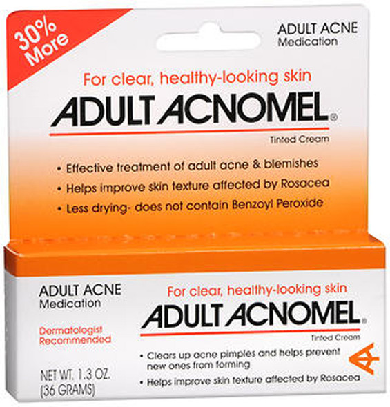 Adult Acne Acnomel Tinted Cream - 1.3  oz
