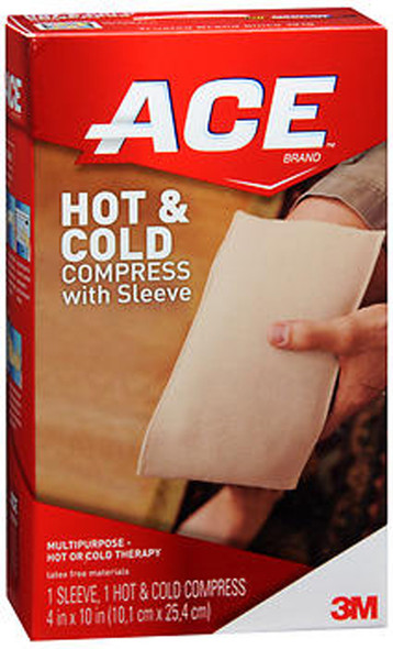 Ace Hot & Cold Compress with Sleeve - 1 Each