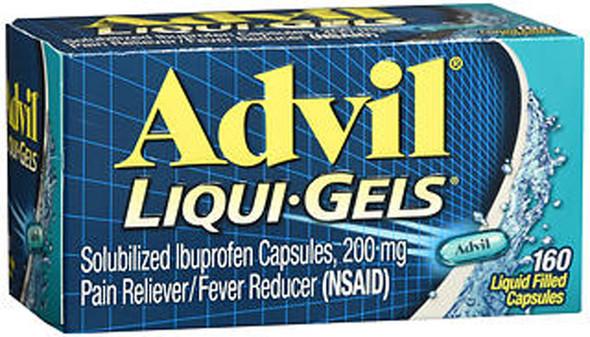 Advil Liqui-Gels Liquid Filled Capsules, 200 mg  - 160 ct