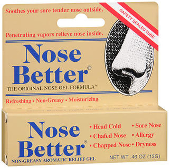 Nose Better Aromatic Relief Gel - 0.46 oz