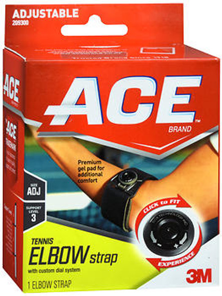 Ace Tennis Elbow Strap with Dials