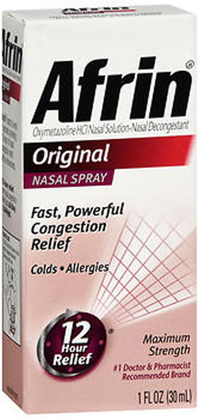 Afrin Nasal Spray Original - 1 oz