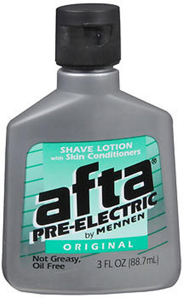 Afta by Mennen Pre-Electric Shave Lotion Original - 3 oz