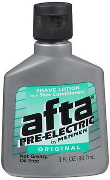 Afta by Mennen Pre-Electric Shave Lotion Original - 3 oz