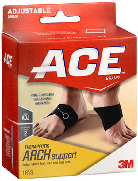 Ace Therapeutic Arch Support Moderate - 1 pr