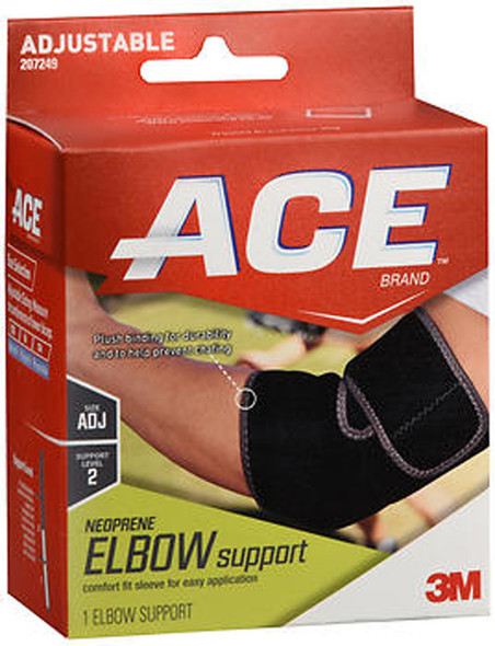 Ace Neoprene Elbow Support, Moderate Support - One Size Fits All