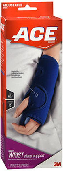 Ace Night Wrist Sleep Support One Size - 1 ea.
