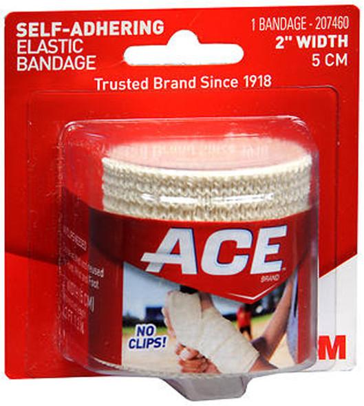 Ace Self-Adhering Elastic Bandage 2 Inch Width