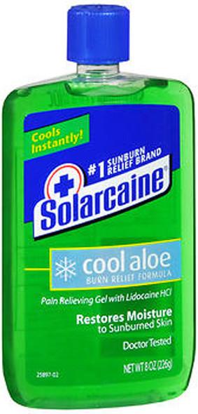 Solarcaine Cool Aloe Burn Relief Gel - 8 oz