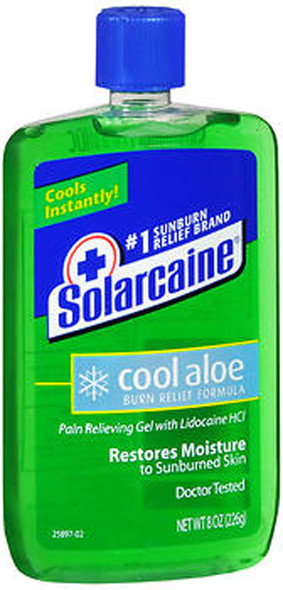 Solarcaine Cool Aloe Burn Relief Gel - 8 oz