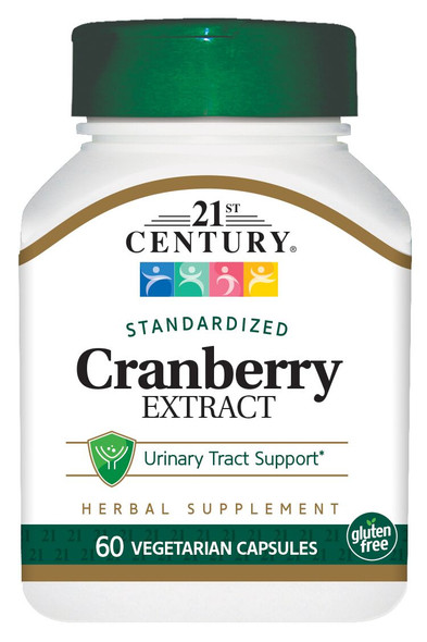 21st Century Cranberry Extract - 60 Vegetarian Capsules