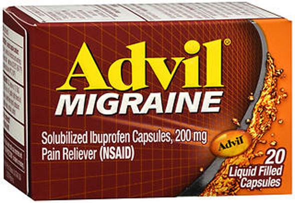 Advil Migraine Liquid Filled Capsules - 20 ct