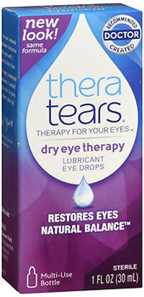 TheraTears Lubricant Eye Drops - 1 oz