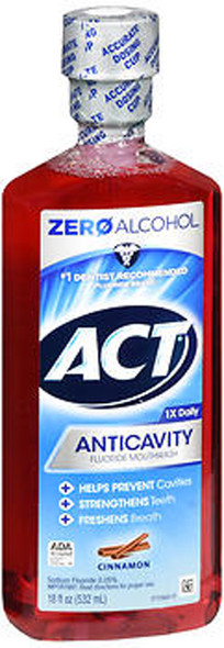 Act Anticavity Fluoride Mouthwash Cinnamon - 18 oz